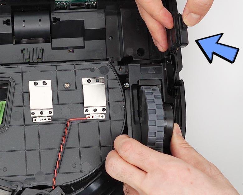 Roomba S9 lift right drop sensor