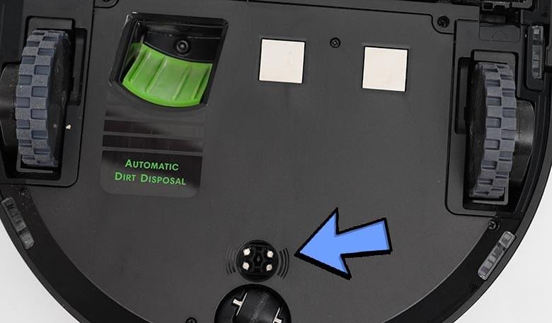 Roomba S9 optical sensor