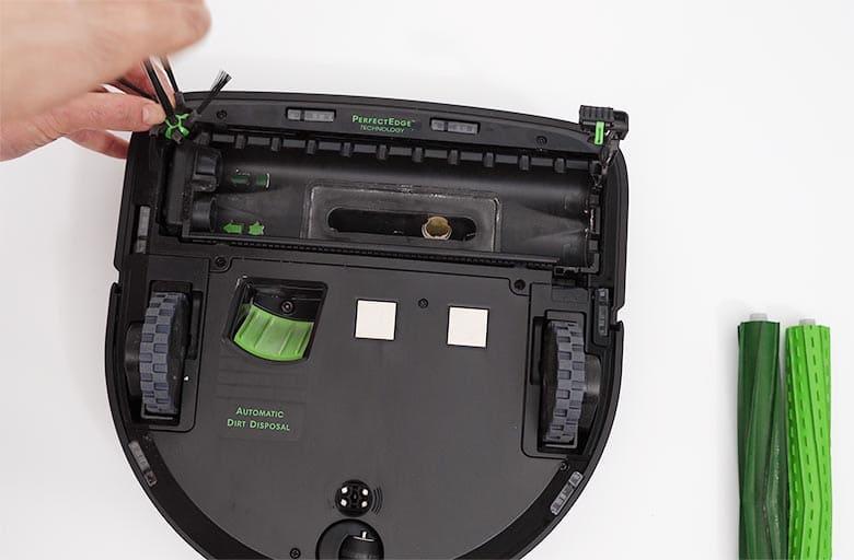 Roomba S9 remove side brush screw