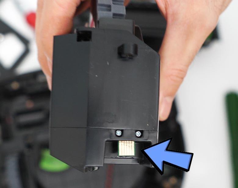 Roomba S9 wheel chip