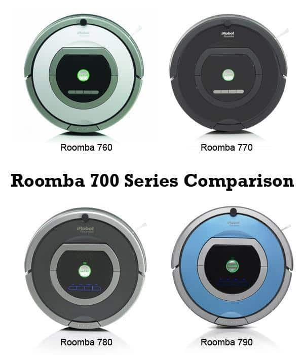 Roomba 700 Series Comparison