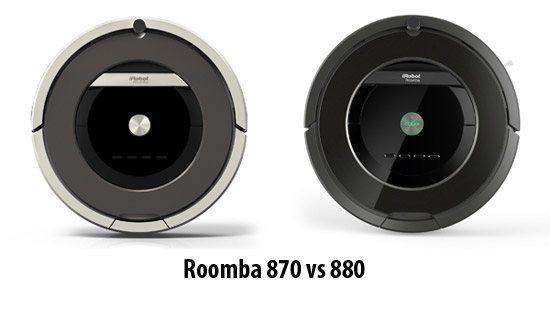 Roomba 870 vs 880