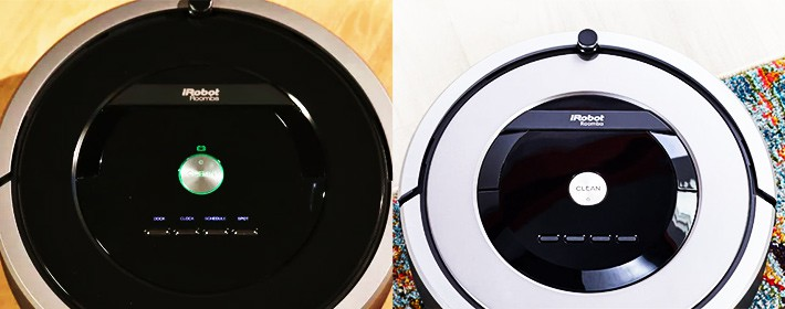 Excellent Roomba 860 Vs 880 How Different Are These Two Robot Vacuums Interior Design Ideas Oxytryabchikinfo
