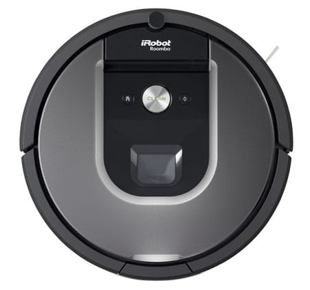 Top view of Roomba 960