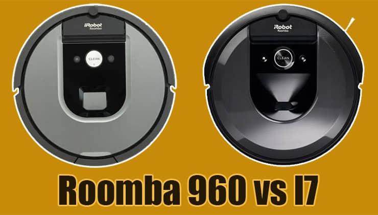 Roomba 960 vs I7