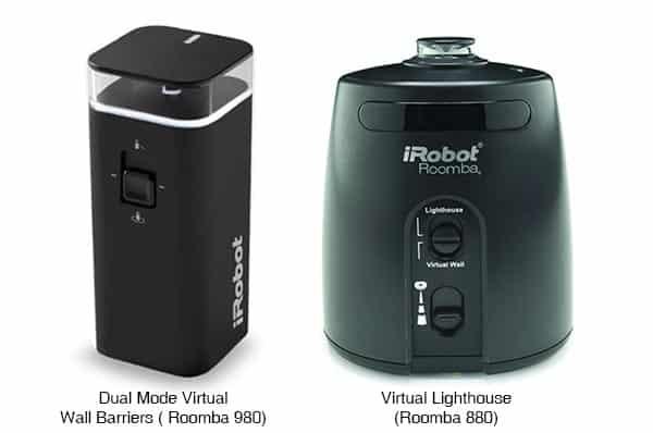 Roomba Containment 880 vs 980