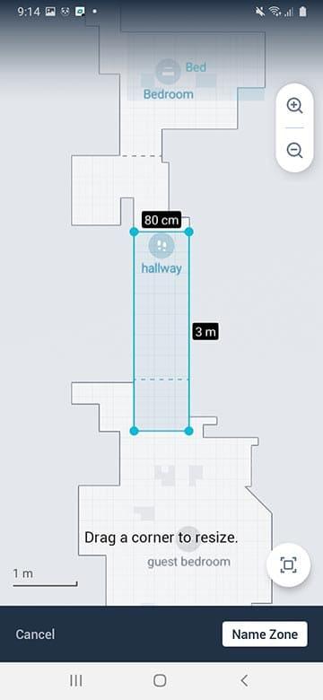 Roomba I6 clean zone