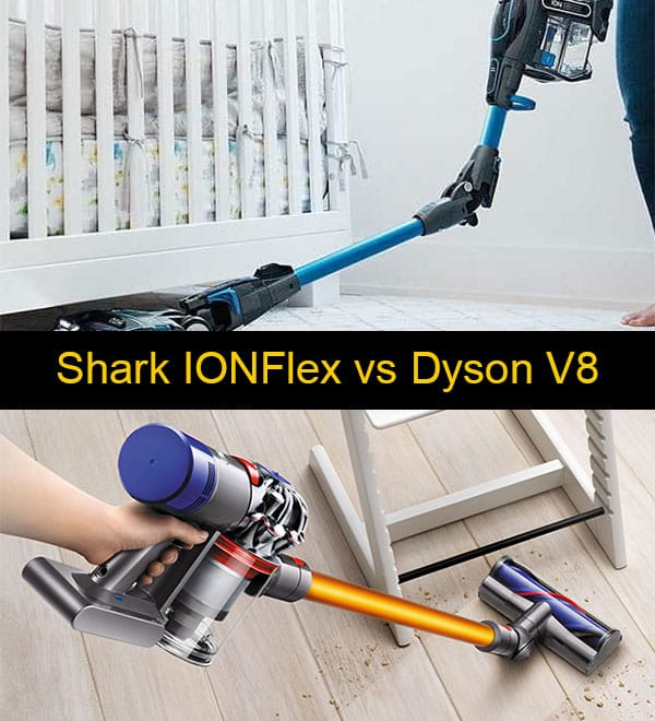shark ionflex vs dyson v8 which cordless is better. Black Bedroom Furniture Sets. Home Design Ideas