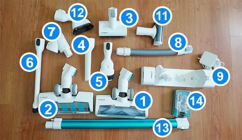 Tineco A11 tools