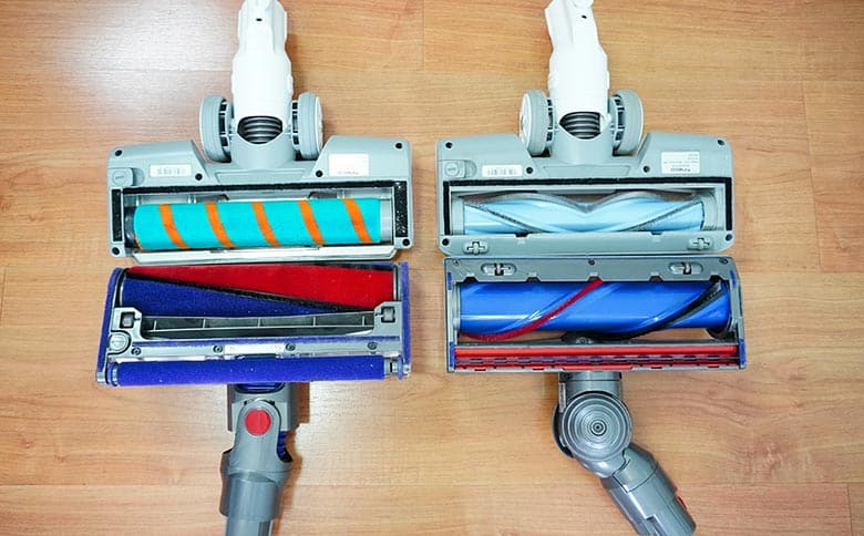 Tineco A11 vs Dyson V8 Cleaning Heads