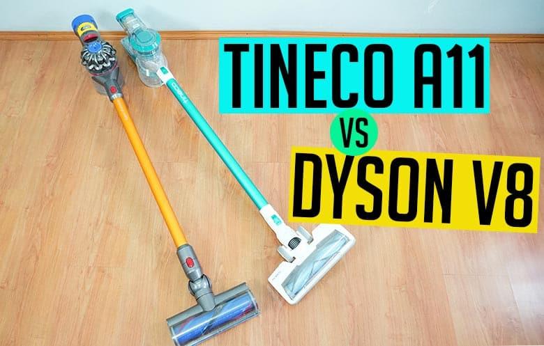 Tineco A11 vs Dyson V8