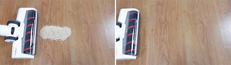 Tineco Pure One S12 Quinoa on Hard Floor