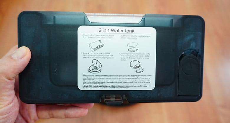 Viomi V3 2-in-1 water tank