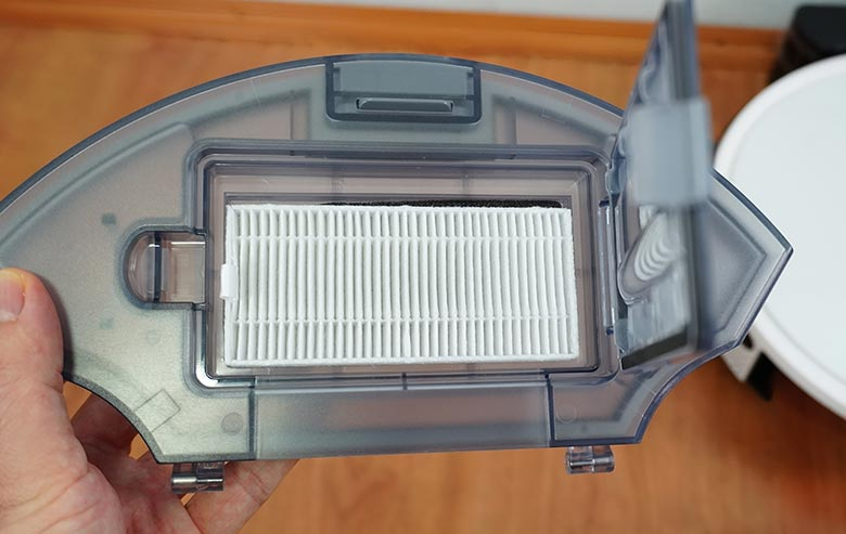 Yeedi K650 dustbin filter