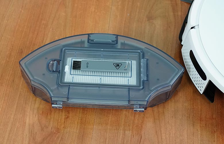 Yeedi K650 dustbin