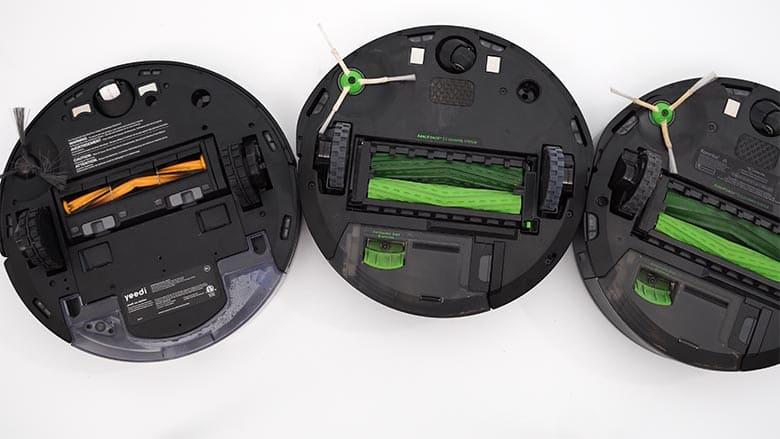 Yeedi Vac Station vs Roomba I3 vs Roomba I6