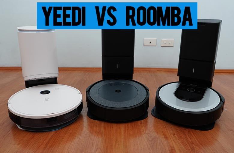 Yeedi Vac Station vs Roomba I3+ vs Roomba I6+